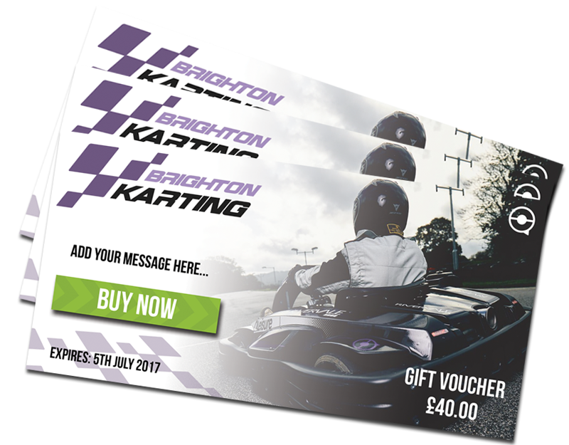 Karting Gift Vouchers Sussex