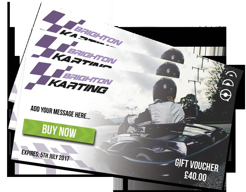 Karting Gift Vouchers Sussex
