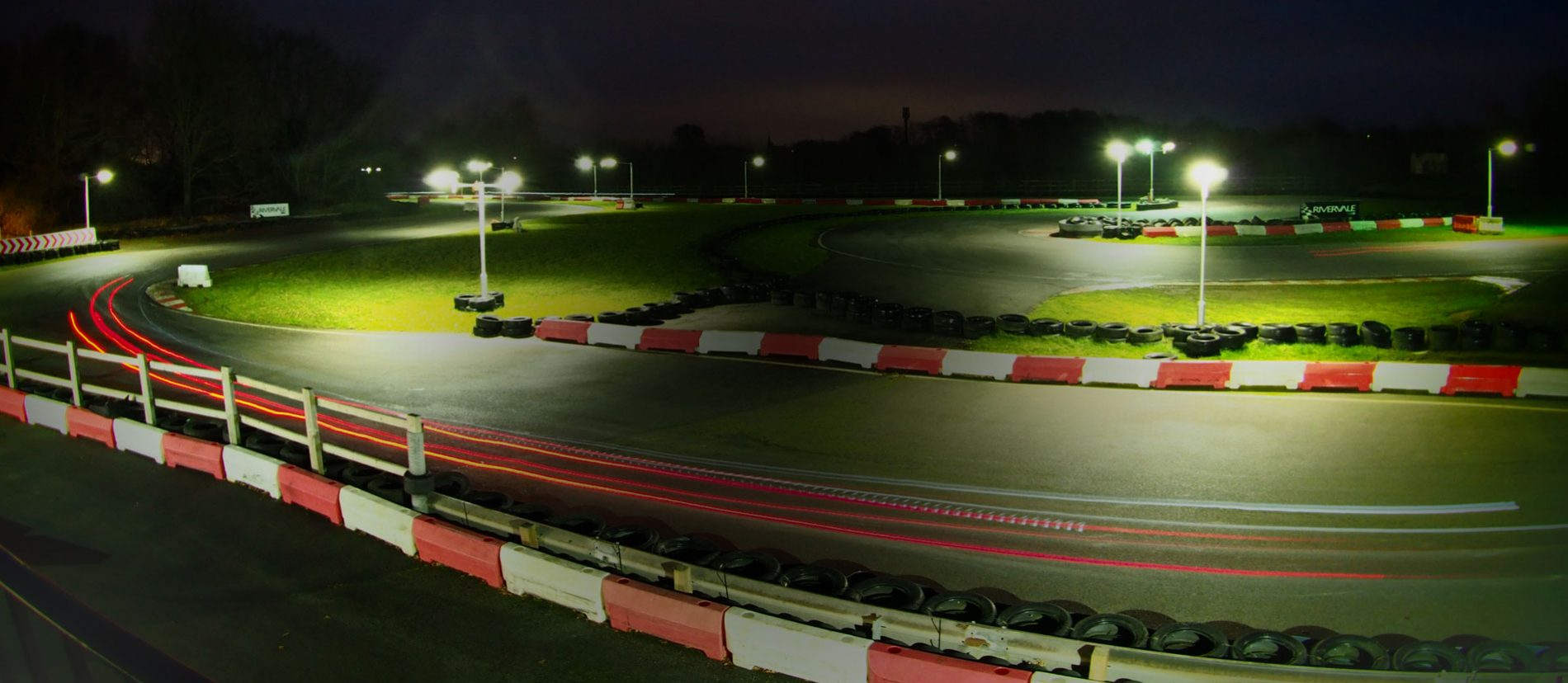 Brighton Karting night trails