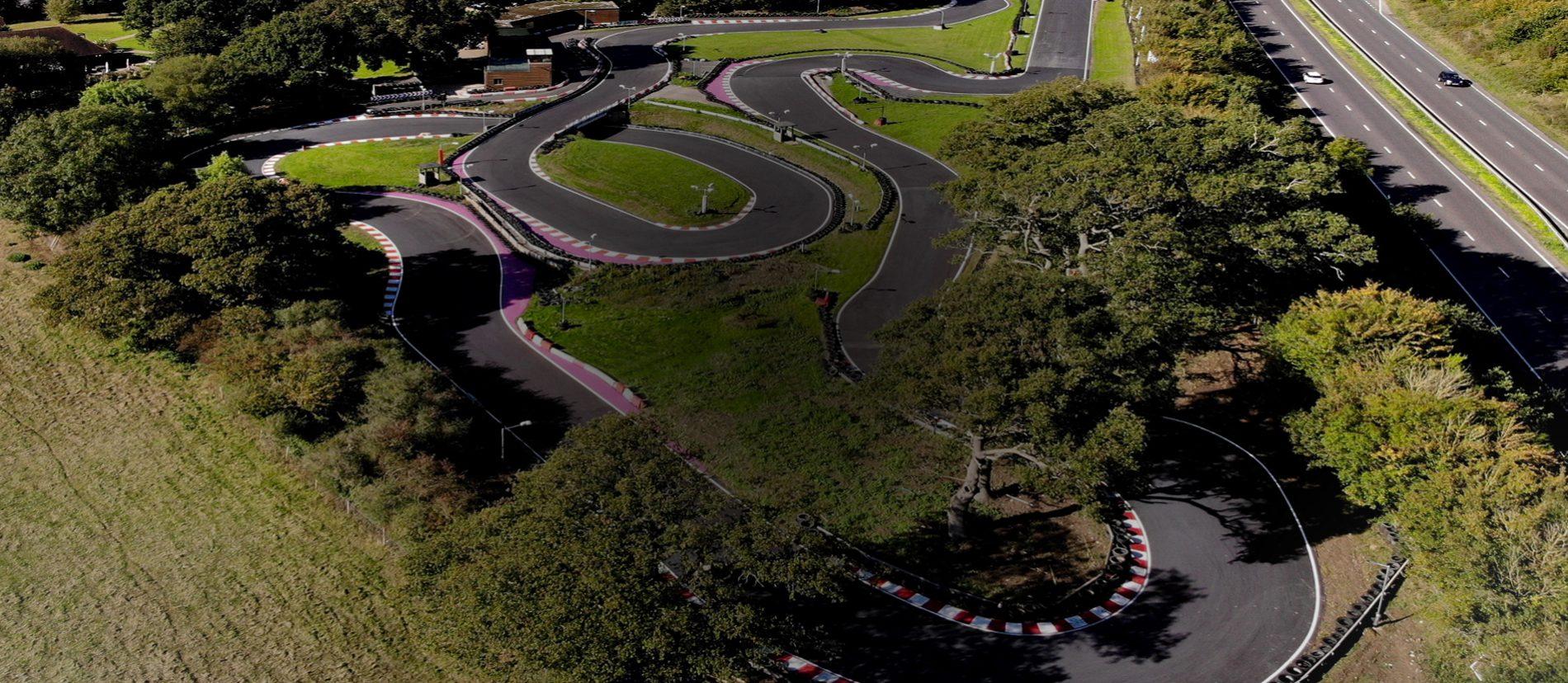 800m Outdoor Kart Track Brighton